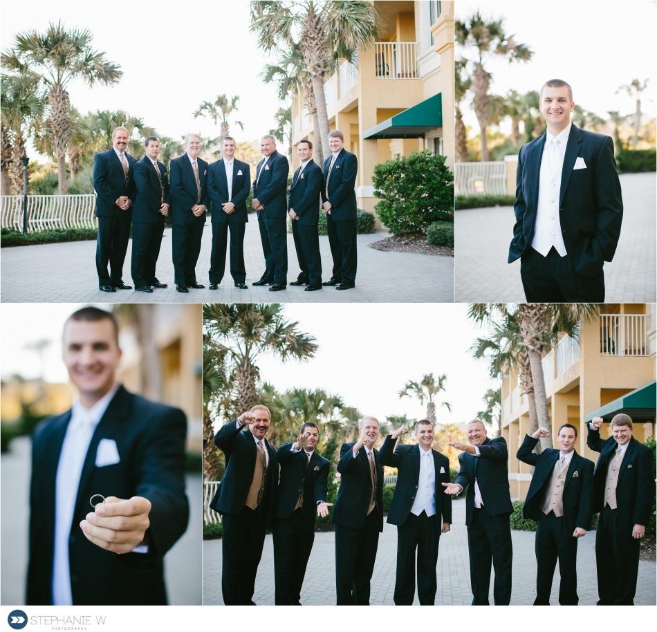 groom and groomsmen omni resort wedding