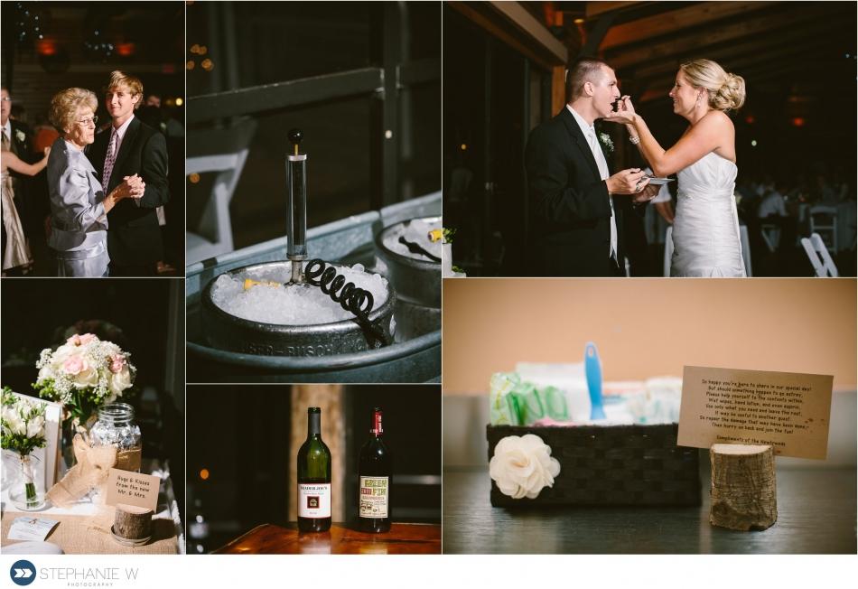 wedding reception at walker