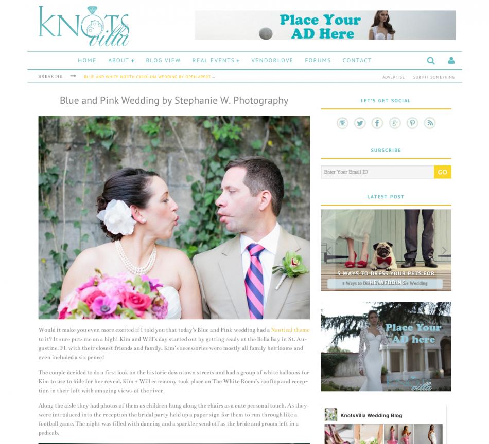 Knots Villa Kim + Will