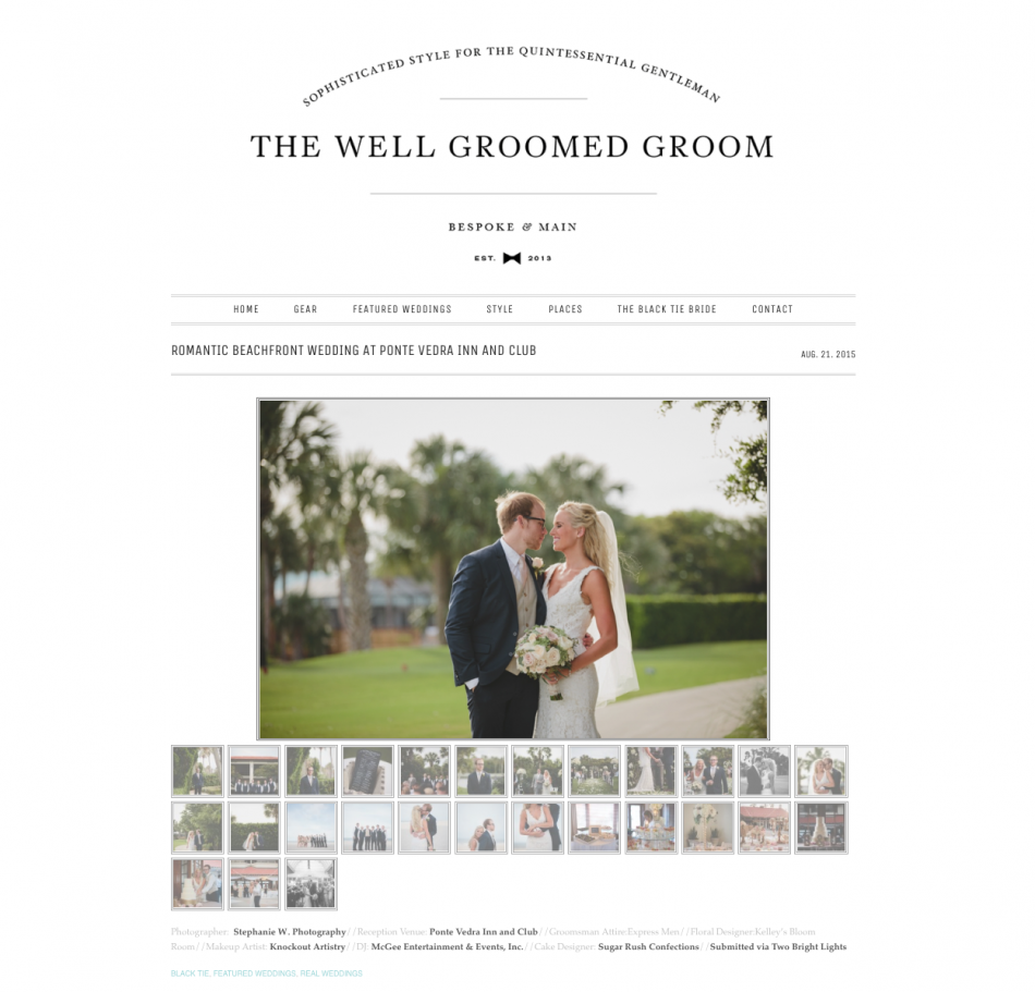Well Groomed Groom - Brandi + Dustin2