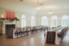 wedding reception decor and long tables at ribault club