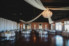 wedding reception space at white room grand ballroom