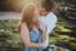 man kissing woman on black rock beach in jacksonville