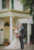bride and groom standing at ribault club