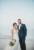 bride and groom on jacksonville beach