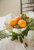reception centerpiece of oranges