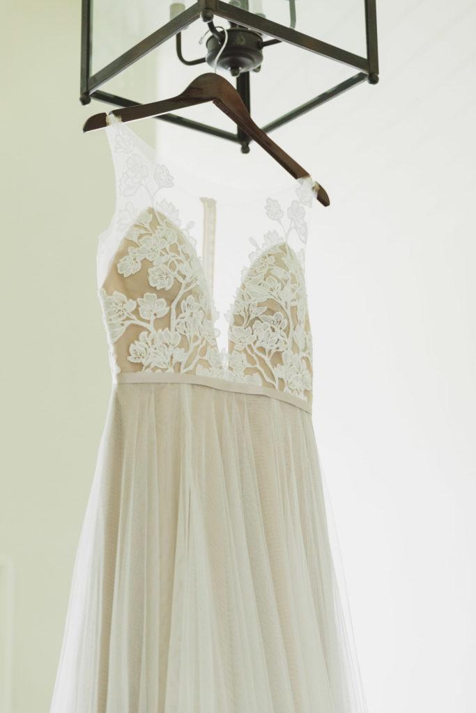 wedding gown bodice